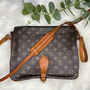 Vintage Louis Vuitton Cartouchiere Crossbody